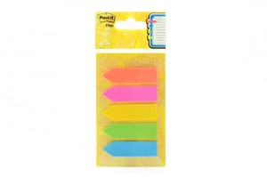 Supplier ATK Post-it 3M 584-5 Arrow Flag 5 Colour Harga Grosir