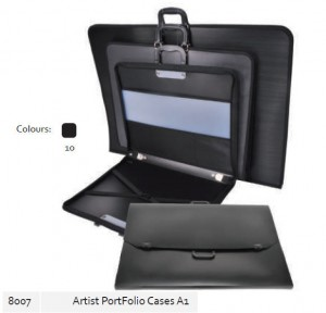 Supplier ATK Bantex 8007-10 Artist Portfolio Cases A1 Black Harga Grosir
