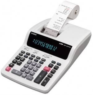 Supplier ATK Casio DR-120TM Kalkulator Printer (12 digit) Harga Grosir