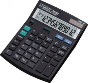 Supplier ATKCitizen Kalkulator CT-666N  (12 Digit)  Harga Grosir
