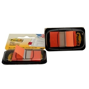 Supplier ATK Post-it 3M 680-4 Flag Orange Harga Grosir