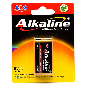 Daftar Katalog ABC Alkaline Baterai 9 Volt (6LR61) bp1 Harga Murah