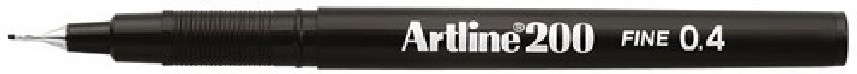 Supplier ATK Artline 200 Writing Pen Hitam Harga Grosir