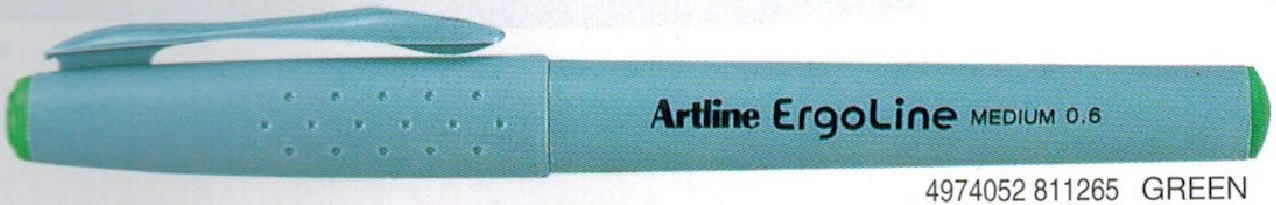 Supplier ATK Artline 3600 Ergoline Pen Medium Hijau Harga Grosir