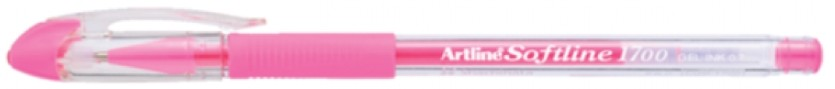 Supplier ATK Artline Softline 1700 Gel Pen F.Pink Harga Grosir