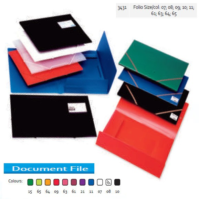 Supplier ATK Bantex 3431 PP Document File FC Harga Grosir