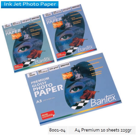 Supplier ATK Bantex 8001-04 Premium Photo Paper A4 10's 228 gr Harga Grosir