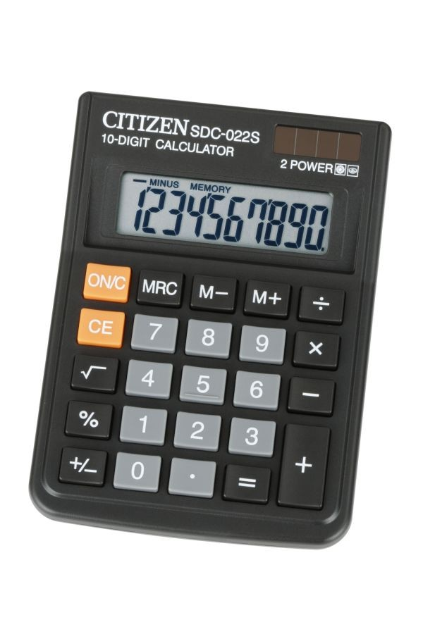 Supplier ATKCitizen Kalkulator SDC-022S  (10 Digit) Harga Grosir