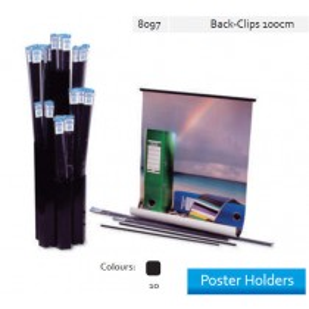 Supplier ATK Bantex 8097-10 Poster Holder Back Clip 100 cm Harga Grosir