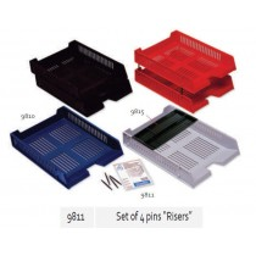 "Supplier ATK Bantex 9811-00 Set of 4 pins ""Riser""  Harga Grosir"