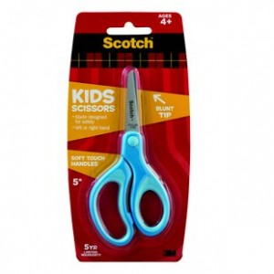 "Supplier ATK Scotch 3M 1442B Gunting  KID  5"" Harga Grosir"