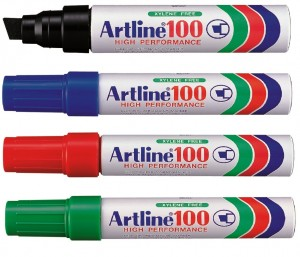Supplier ATK Artline 100 Spidol Permanent Harga Grosir