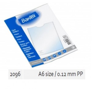 Supplier ATK Bantex 2096-08 Card Holder A6 0.12mm PP Harga Grosir
