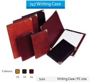 Supplier ATK Bantex 7401 747 Writing Case F4  Harga Grosir