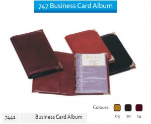 Supplier ATK Bantex 7441 747 Business Card Album  Harga Grosir