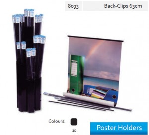 Supplier ATK Bantex 8093-10 Poster Holder Back Clip 63 cm Harga Grosir