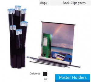Supplier ATK Bantex 8094-10 Poster Holder Back Clip 70 cm Harga Grosir