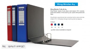 Supplier ATK Bantex 8215 Ring Binder 1321 A4 2O-20mm Harga Grosir