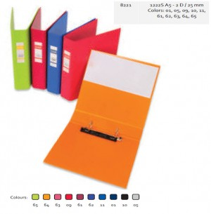 Supplier ATK Bantex 8221 Ring Binder 1222 A5 2D-28mm Harga Grosir