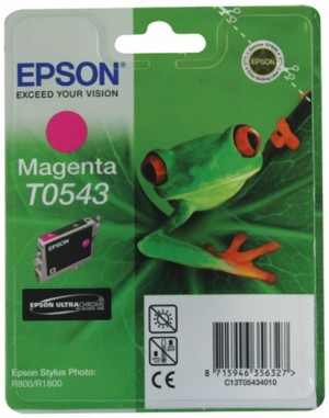 Supplier ATK Epson T0543 Magenta Ink Cartridge Sp-R800 Harga Grosir
