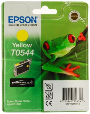 Supplier ATK Epson T0544 Yellow Ink Cartridge Sp-R800 Harga Grosir
