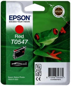 Supplier ATK Epson T0547 Red Ink Cartridge Sp-R800 Harga Grosir