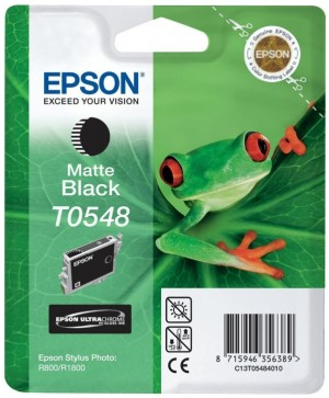 Supplier ATK Epson T0548 Matte Black Ink Cartridge Sp-R800 Harga Grosir