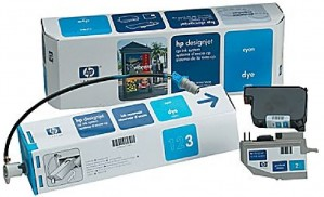 Supplier ATK HP 07 (C1807A) Cyan Designjet CP Ink System Harga Grosir