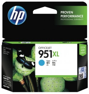 Distributor HP 951XL (CN046AA) Officejet Cyan Ink CartridgeHarga Murah
