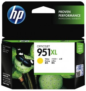 Distributor HP 951XL (CN048AA) Officejet Yellow Ink CartridgeHarga Murah