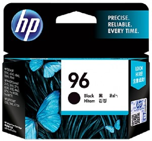 Distributor HP 96 (C8767WA) Black Inkjet Print CartridgeHarga Murah