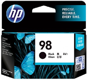 Distributor HP 98 (C9364WA) Black Inkjet Print CartridgeHarga Murah