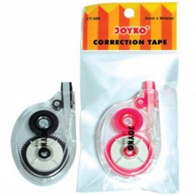 Supplier ATK Joyko Correction Tape CT-508 Harga Grosir